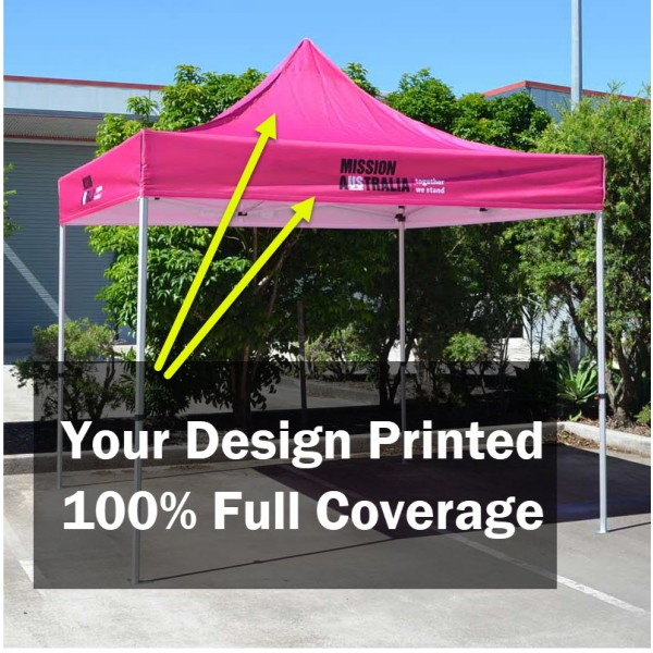 3x3 Supreme Strength Marquee with Printed Canopy